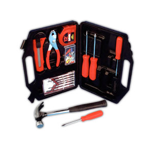 75 Piece Tool Kit <br>Comes with fitted case and hardened and tempered steel tools
