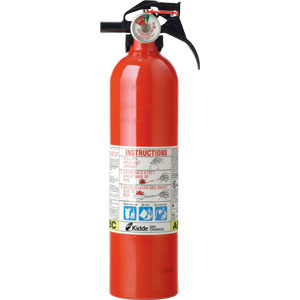 2 1/2 lb ABC Fire Extinguisher FC110 w/Nylon Strap