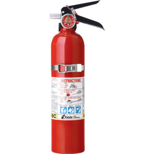 2 1/2 lb ABC Fire Extinguisher FC110M w/Steel Strap