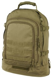 Coyote Brown 3 Day Pack<br>Free Shipping!