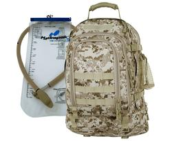 MARPAT DESERT 3 day Hydration Pack <br> TAA Compliant