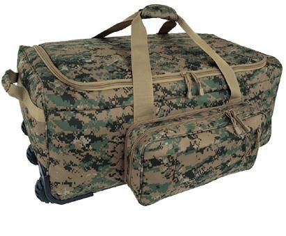 MARPAT DIGI GREEN Wheeled Deployment Bag. MARPAT WOODLAND <br> Free Shipping!