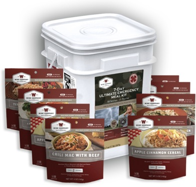 7 Day Emergency Meal Kit</br>REAL MEAT!<br/> 7 Year Shelf Life!!! <br/> Free Shipping!!!
