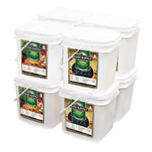 832 Servings Emergency Food<br>1 Month Supply<br>For Family of 4<br>Free Shipping!