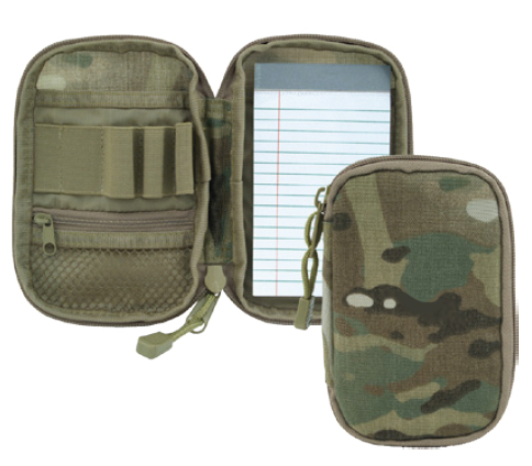 Multicam Field Pad With Pen