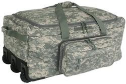 ACU Digital Camo Wheeled Deployment Bag  <br> TAA Compliant