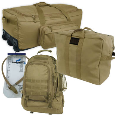 Coyote Brown Advanced Deluxe Deployment Kit <br> FREE SHIPPING!