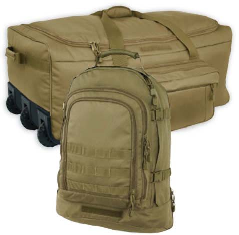 Coyote Brown Economy Deployment Kit <br> FREE SHIPPING!