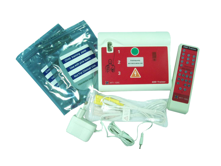 Universal AED Trainer System - English / Spanish