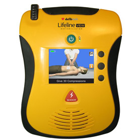 Defibtech Lifeline View AED Survival Kits, emergency supply, emergency kits, survival information, survival equipment, child survival guide, survival, army, navy, store, gas, mask, preparedness, food storage, terrorist, terrorist disaster planning, emergency, survivalism, survivalist, survival, center, foods