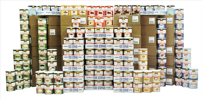 Dried Foods For Emergency Preparedness: Emergency Food In Cans: Freeze Dried Foods In Cans, #10