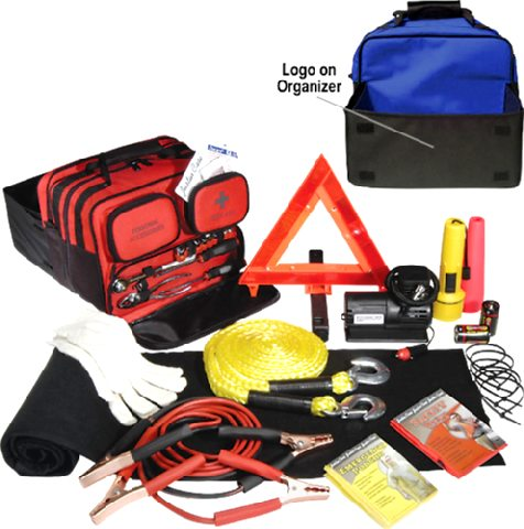 Premium Travel Emergency Kit<br>Roadside Assitance Program Included!