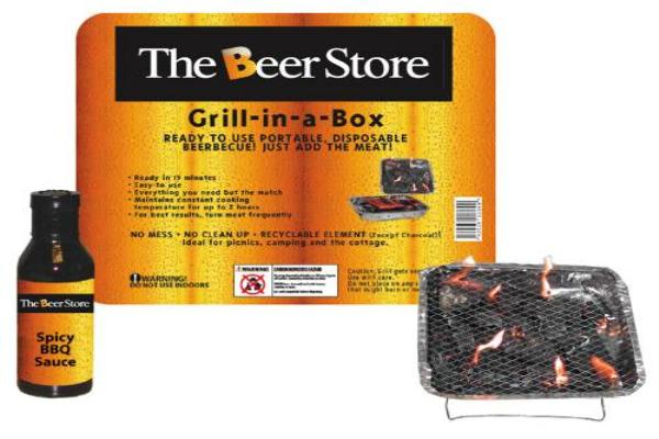 TN - GIB Disposable Grill in a Box