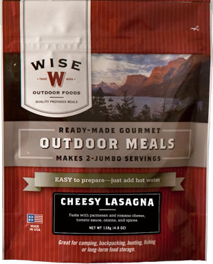 Cheesy Lasagna Outdoor Meal Case of 6