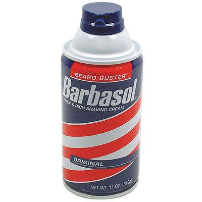 Barbasol Household Can Diversion Safe