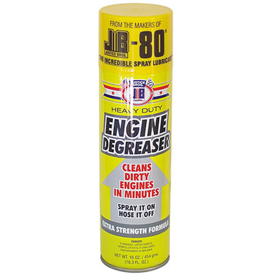 JB Engine Degreaser Can Diversion Safe