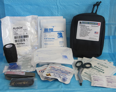 Gunshot Trauma Kit