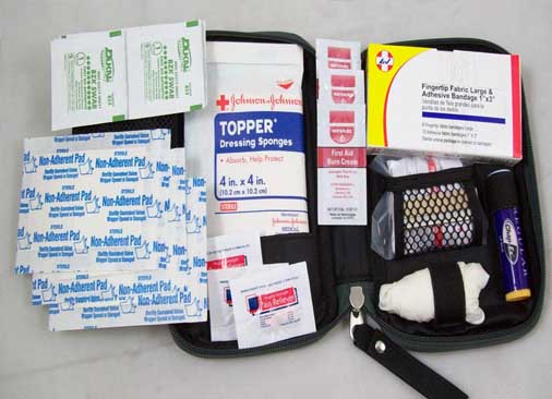 Glove Box First Aid Kit (BLK)