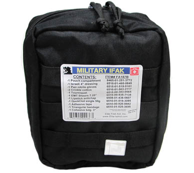 Military Individual First Aid Bag Only