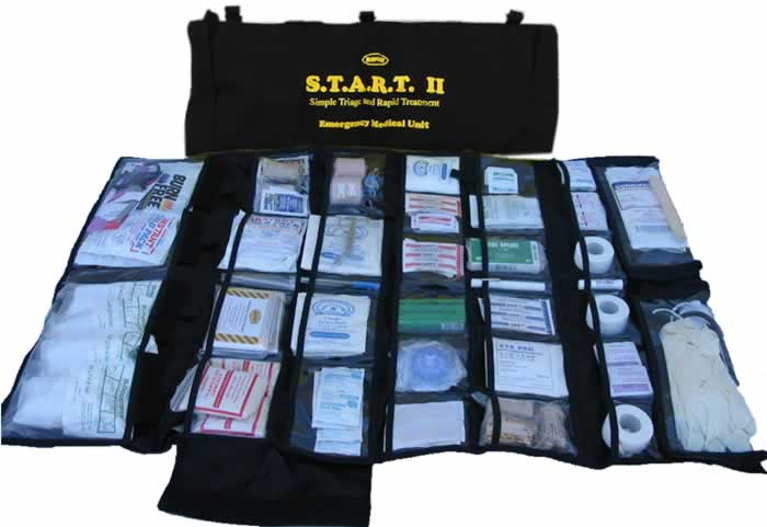 217 Piece Emergency Trauma Kit