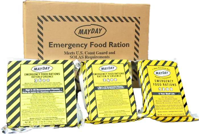 3600 Calorie Emergency Food Rations