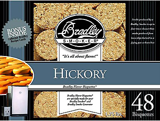 Hickory Bisquettes (48 Pack)