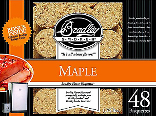 Maple Bisquettes (48 Pack)