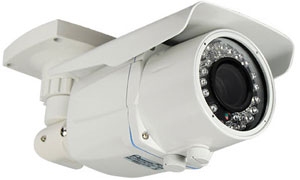 HIGH RESOLUTION 650 TVL DAY/NIGHT COLOR CAMERA WITH WIDE ANGLE LENS