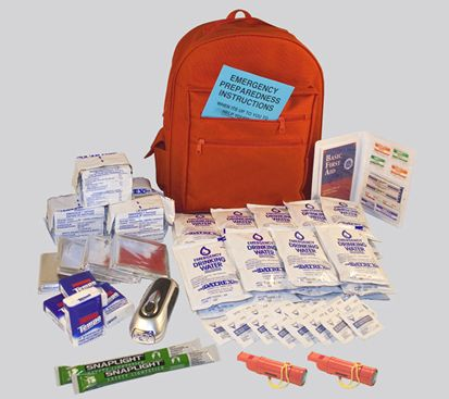 Earthquake Emergency Kit for family