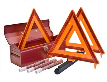 DOT Truck Kit with Flares<br>Without Fire Extinguisher