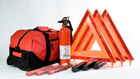 DOT Compliant Truck Kits in Duffel Bag