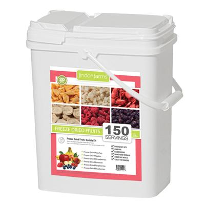 150 Serving Freeze Dried Tropical Fruits <BR> Free Shipping!!!