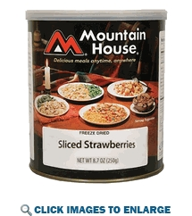 Mountain House Sliced Strawberries