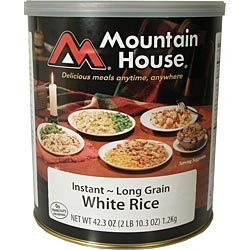 Mountain House Instant White Rice
