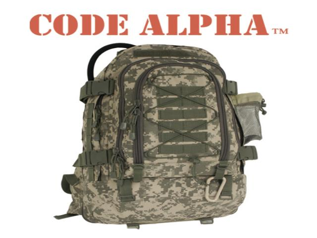 Code Alpha Bags and Packs