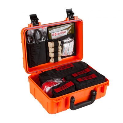 Range Trauma First Aid Kit - hard case