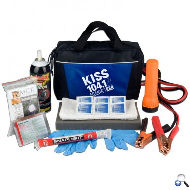 Premium Auto Emergency Kit-made in USA