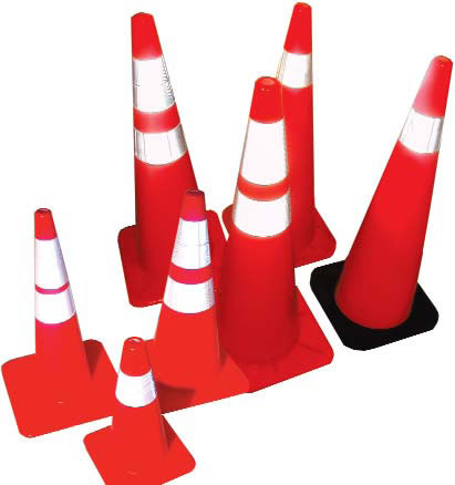 Collared Traffic Cones