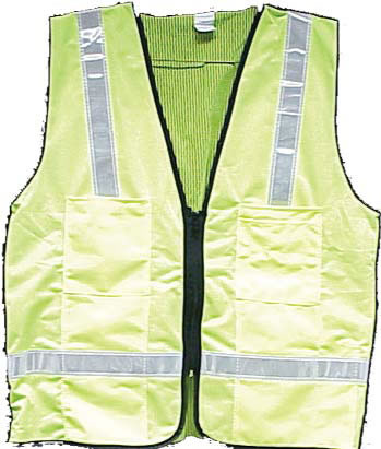 Lime Surveyors Vest