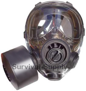 NBC Tactical Gas Mask - Complete Kit
