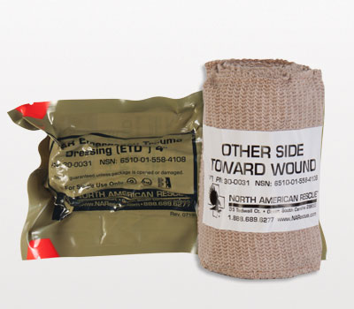 Emergency Trauma Dressing (ETD) - 4 inch