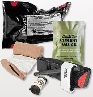 Individual Police Officer Trauma Kit (IPOK-CG Combat Gauze)