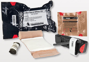Individual Police Officer Trauma Kit (IPOK-CG ChitoGauze)