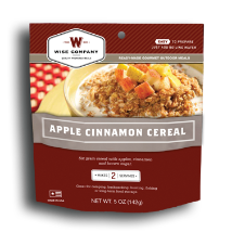 Multi-Grain Apple and Cinnamon Cereal Outdoor Meal Case of 6