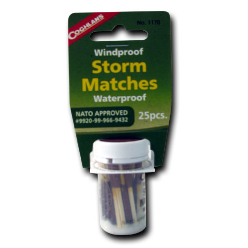 Storm Matches - Wind & Waterproof