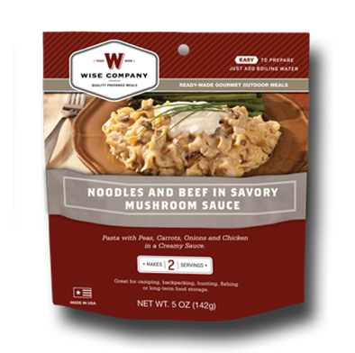 Noodles and Beef Outdoor Meal Case of 6