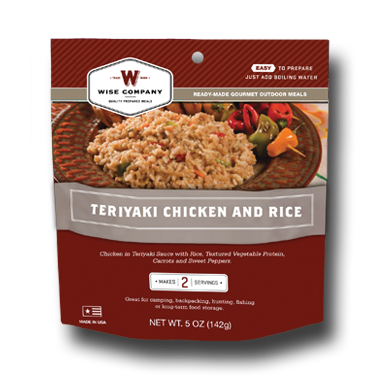 Teriyaki and Rice Outdoor Meal Case of 6