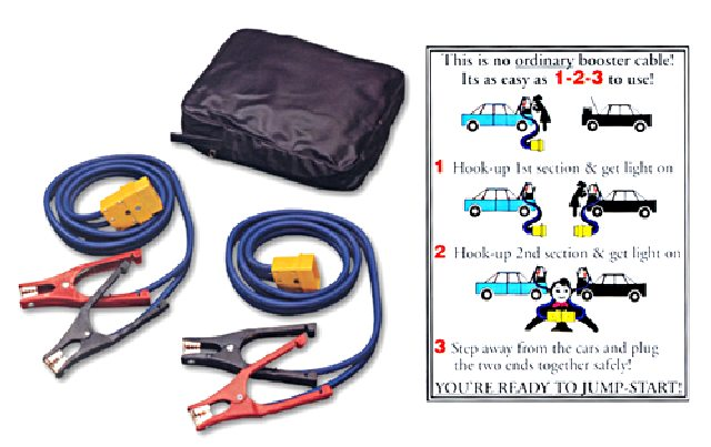 "Deluxe EZ-Jump ""Smart"" Jumper Cable System"