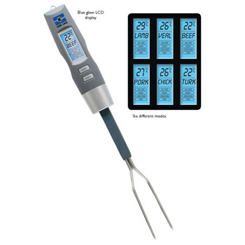 Digital BBQ Thermometer Fork