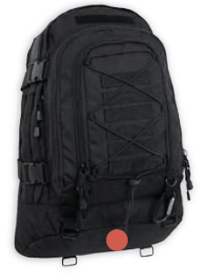 Black Military Bags and Backpacks